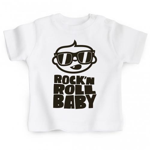 Tshirt bébé Rock'n'Roll Baby