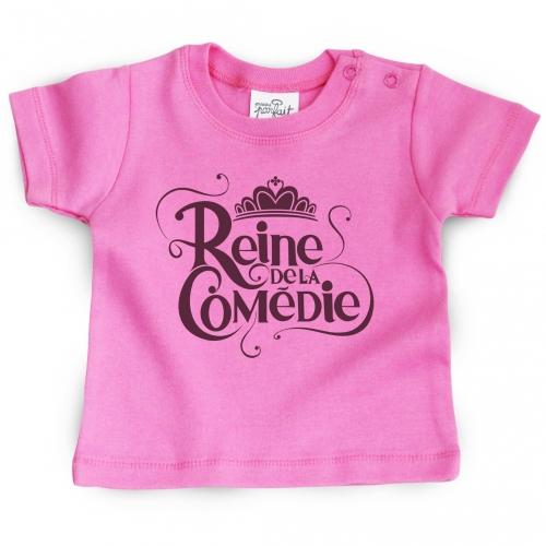 Tshirt bébé Reine de la comédie
