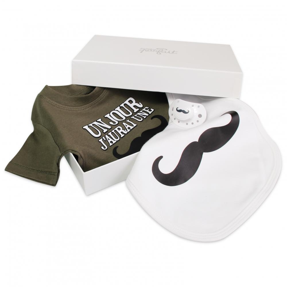 Cadeau De Naissance Moustache Presque Parfait