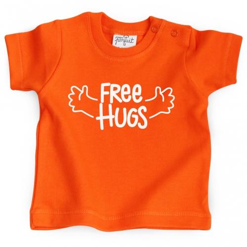 Tshirt bébé Free Hugs