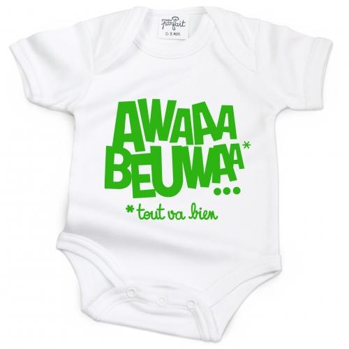 Body bébé AWAAA