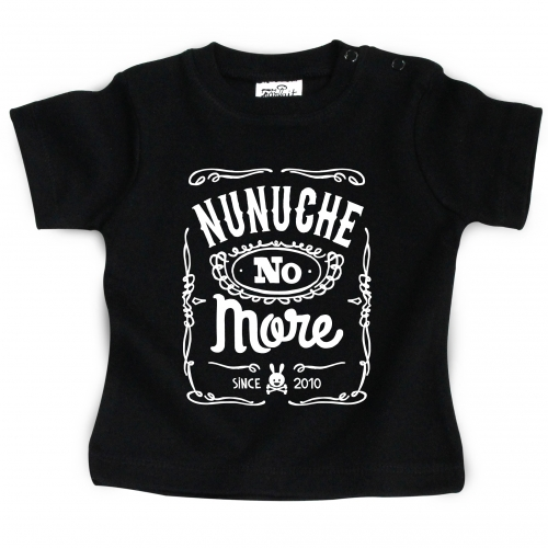 Tshirt bébé édition limitée Nunuche no more