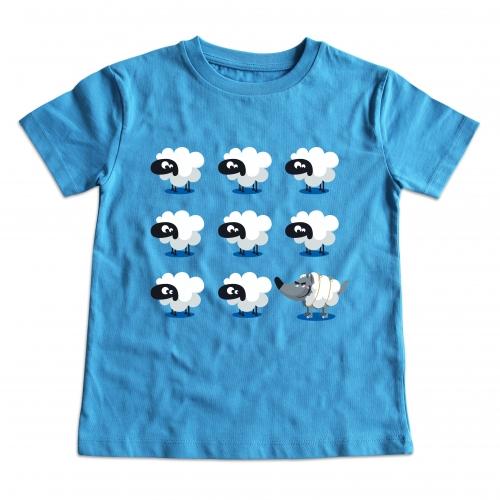 Tshirt enfant 8 moutons
