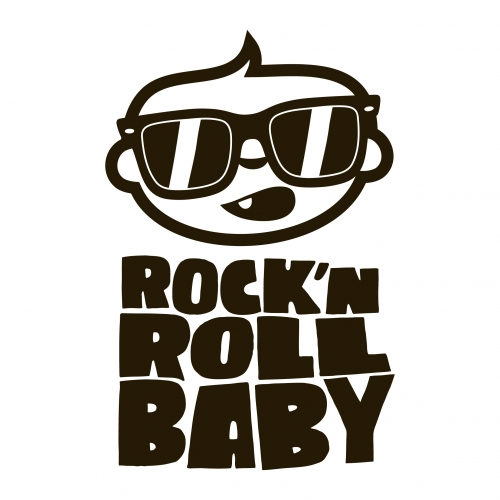 toile d corative pour chambre b b rock 39 n 39 roll baby