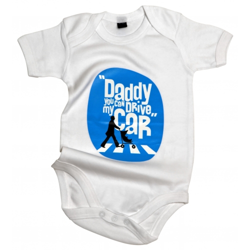 Body bébé Daddy Drive My Car
