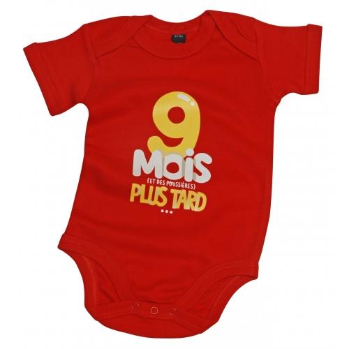 Body bébé 9 Mois Plus Tard