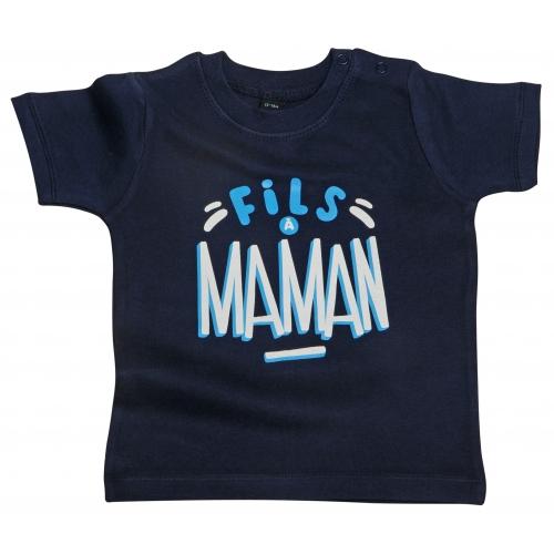 Tshirt bébé Fils à Maman