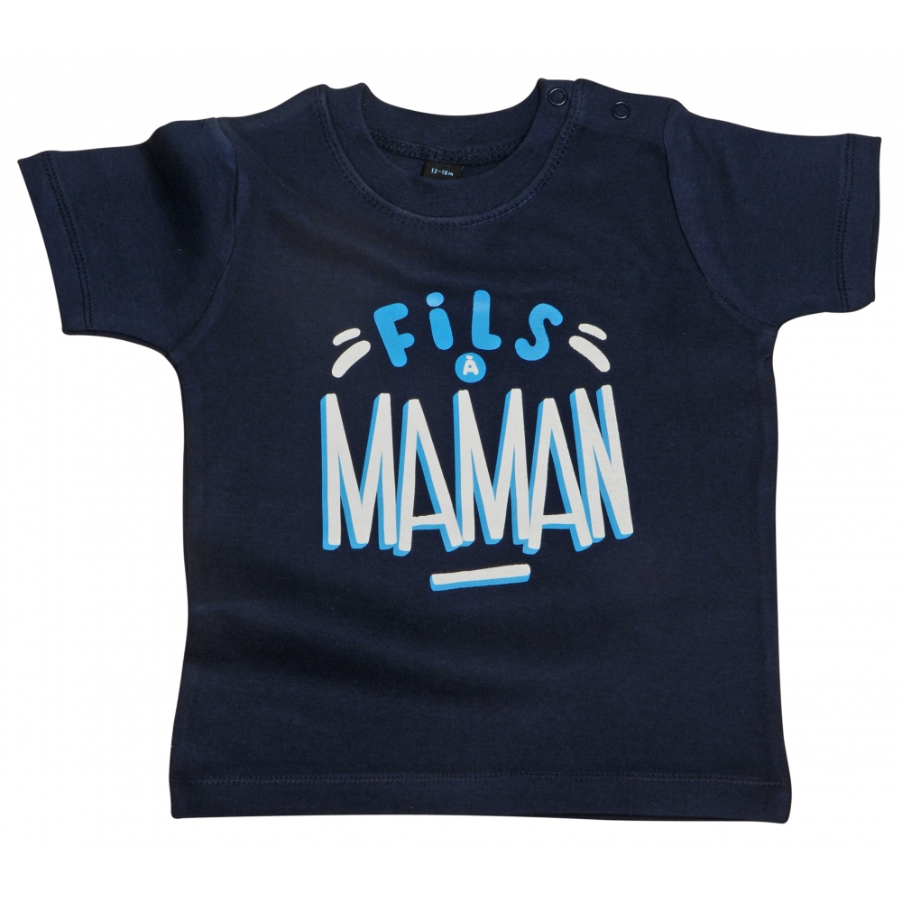 tshirt b b fils maman presque parfait. Black Bedroom Furniture Sets. Home Design Ideas
