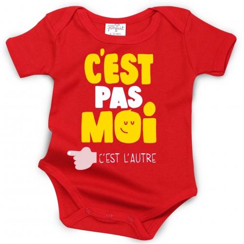 Body C'est Pas Moi (Rouge)