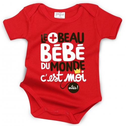 Body bébé Le Plus Beau Bébé du monde